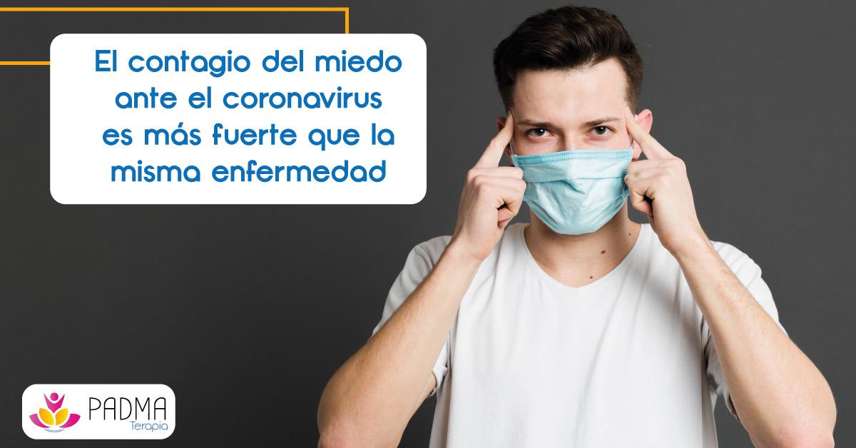 contagio miedo coronavirus